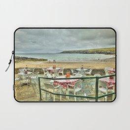 Cafe on the Beach Laptop Sleeve