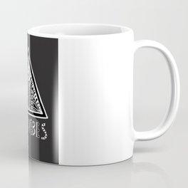 Feel Good Vibes Black White mindset 2 Coffee Mug