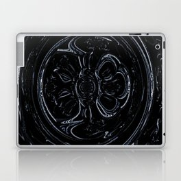 Black Wheel Laptop & iPad Skin