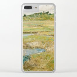 Childe Hassam - The Concord Meadow, 1891 Clear iPhone Case