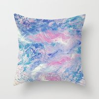 valentines Throw Pillows featuring Valentines by BritBoi