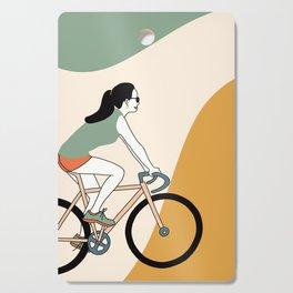 Biker Cutting Board