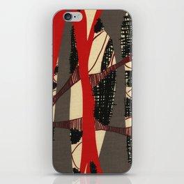 Coronary Contemporary 3 iPhone Skin