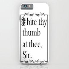 SHAKESPEAREAN INSULT iPhone 6s Slim Case