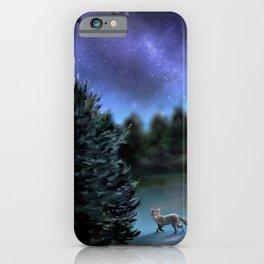 Backyard Fox iPhone Case