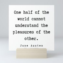 61   | Jane Austen Quotes | 190722 Mini Art Print