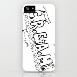 C.R.E.A.M.  iPhone Case