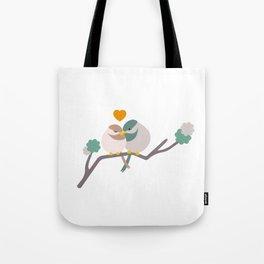 Lovebirds One Tote Bag