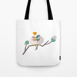 Lovebirds One Tote Bag