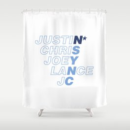 *NSync Shower Curtain