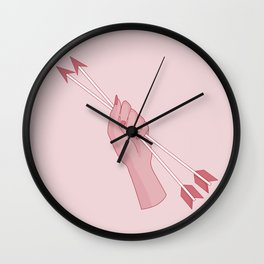 Protect your heart Wall Clock