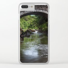 Cenarth bridge Clear iPhone Case