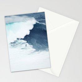 Wave Surfer Indigo Stationery Cards