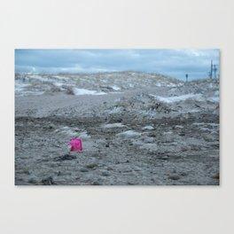 Pink Pail Canvas Print