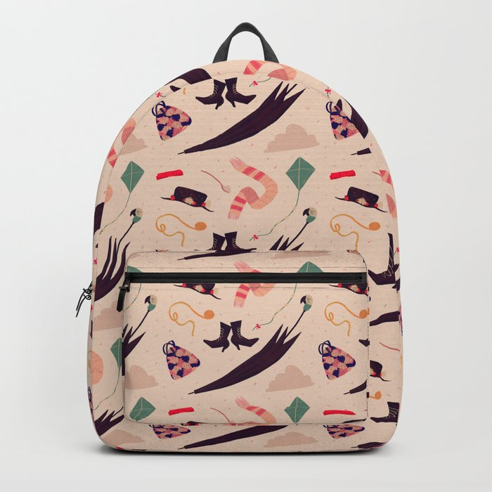 Practically Perfect Pattern Backpack