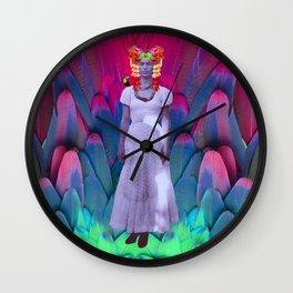 My Frida   My Herοine Wall Clock