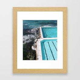 Bondi Icebreakers Swim Framed Art Print