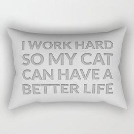 The Cat Lover I Rectangular Pillow