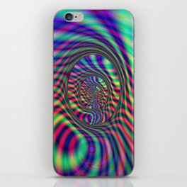 Psychedelic Ovals iPhone Skin