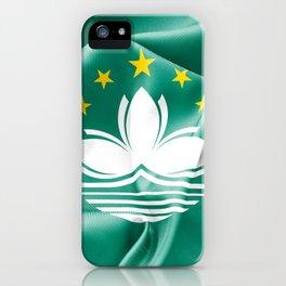 Macau Flag iPhone Case