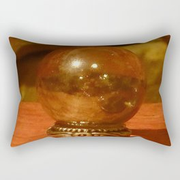 Magic Crystal Ball Rectangular Pillow