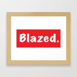 Blazed Framed Art Print
