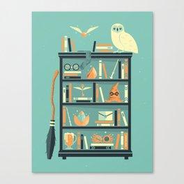 Potter Shelf | Rowling Canvas Print