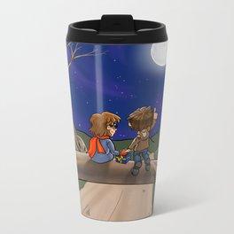 Under the Moon Metal Travel Mug