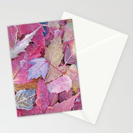 Autumn Leaves Design Stationery Cards