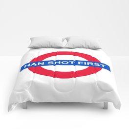 Han Shot First Comforters