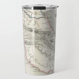 Vintage Map of Costa Rica (1851) Travel Mug