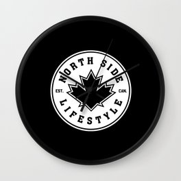 NSL Northside Crest Wall Clock