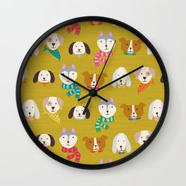 Puppers and Doggos Wall Clock
