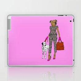Lady Staffy Laptop & iPad Skin