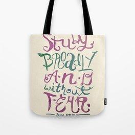 Vlogbrothers- Study Broadly Tote Bag