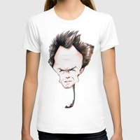 clint eastwood T-shirts featuring Clint Eastwood by Diego Abelenda