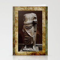 greece Stationery Cards featuring Greece  by Saundra Myles