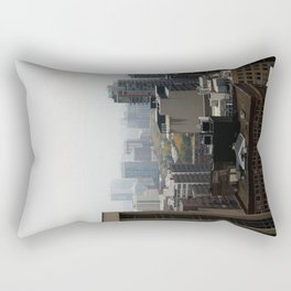 City Buildings Chicago Original Color Photo Rectangular Pillow