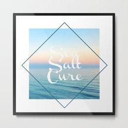 Sea Salt Cure Ocean Print, LA Inspired, NYC Metal Print
