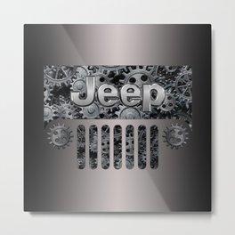 Jeep Steampunk Style Metal Print