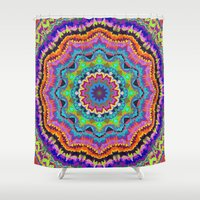 carnival Shower Curtains featuring Carnival by Groovity