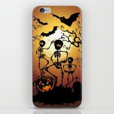 Skeletons Macabre Dance iPhone Skin
