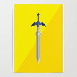 Master Sword (Legend of Zelda) Postcard Poster