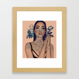Confidence is sexy Framed Art Print