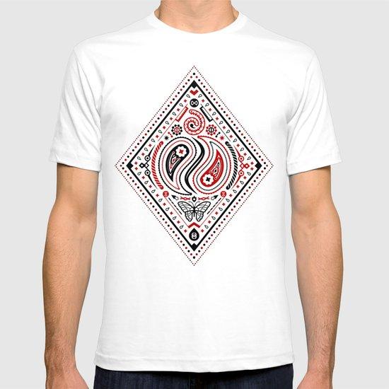 83 Drops - Diamonds (Red & Black) T-shirt