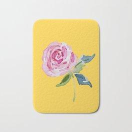 Watercolor Rose Badematte
