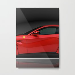 F12 Berlinetta 2/3 poster Metal Print