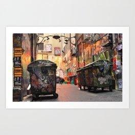 Flinders in the Fall  Art Print
