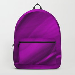 Elliptical bright pink curved lines with catchy ovals of vibrant rings. Backpack