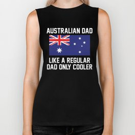 Australian Dad Biker Tank